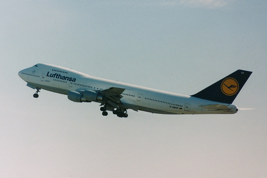 Boeing 747-230, D-ABYP, 11.10.1994